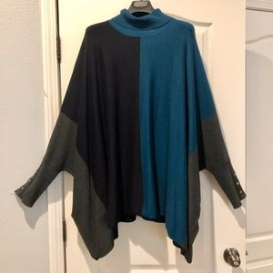 Alfani Poncho with sleeves